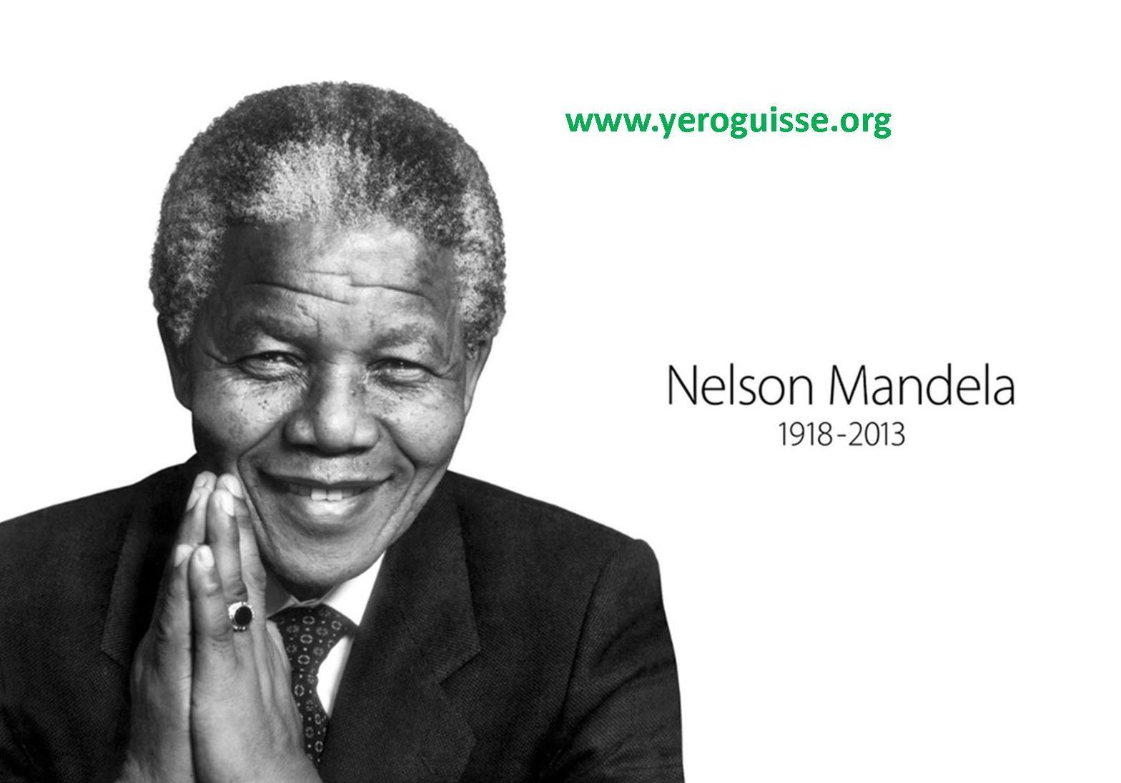 Nelson Mandela, une véritable légende !
